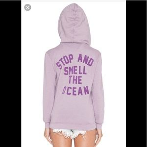 Wildfox Couture Stop and Smell the Ocean hoodie